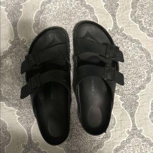 Black Birkenstocks